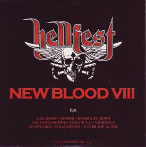 Cover - Steelwing: Hellfest - New Blood VIII