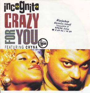 Incognito: Crazy For You - Cover
