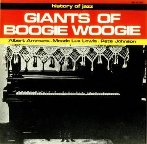 Cover - Meade Lux Lewis: Giants Of Boogie Woogie