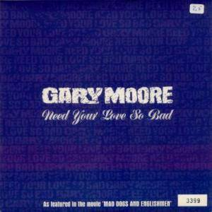 Gary Moore: Need Your Love So Bad - Cover