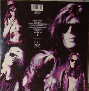 The Sisters Of Mercy: Vision Thing (LP) - Bild 2