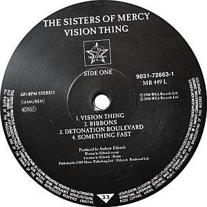The Sisters Of Mercy: Vision Thing (LP) - Bild 3