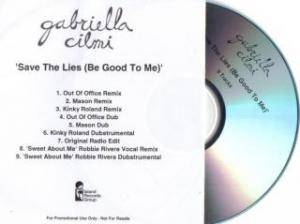 Cover - Gabriella Cilmi: Save The Lies (Be Good To Me)
