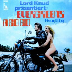 Lord Knud Präsentiert Evergreens A Go Go - History Of Pop - Cover