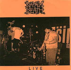 Napalm Death: Live - Cover