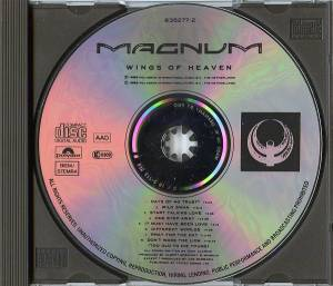 Magnum: Wings Of Heaven (CD) - Bild 3