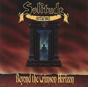 Solitude Aeturnus: Beyond The Crimson Horizon - Cover