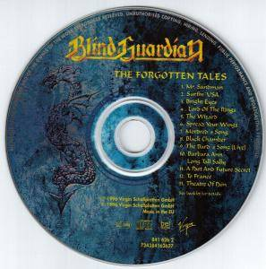 Blind Guardian: The Forgotten Tales (CD) - Bild 5