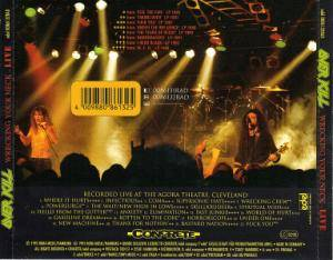 Overkill: Wrecking Your Neck Live (3-CD) - Bild 3