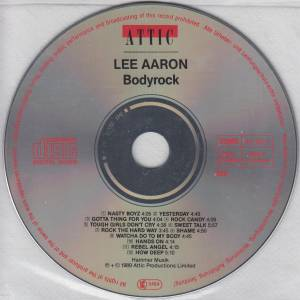 Lee Aaron: Bodyrock (CD) - Bild 4