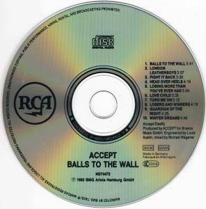 Accept: Balls To The Wall (CD) - Bild 4