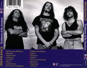 Pestilence: Testimony Of The Ancients (CD) - Bild 2