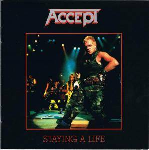 Accept: Staying A Life (2-CD) - Bild 1