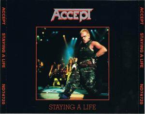 Accept: Staying A Life (2-CD) - Bild 2