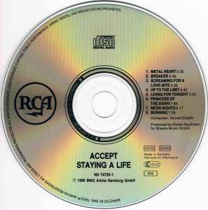 Accept: Staying A Life (2-CD) - Bild 6