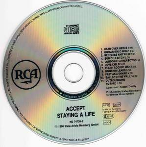 Accept: Staying A Life (2-CD) - Bild 7