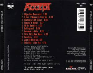 Accept: Objection Overruled (CD) - Bild 2