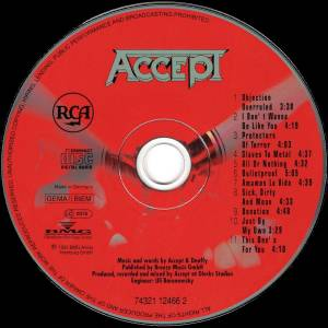 Accept: Objection Overruled (CD) - Bild 3
