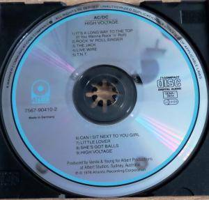 AC/DC: High Voltage (CD) - Bild 3