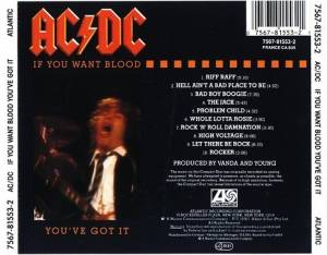 AC/DC: If You Want Blood You've Got It (CD) - Bild 2