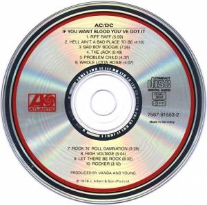 AC/DC: If You Want Blood You've Got It (CD) - Bild 3