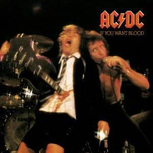 AC/DC: If You Want Blood You've Got It - Cover