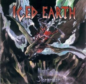 Iced Earth: Night Of The Stormrider - Cover