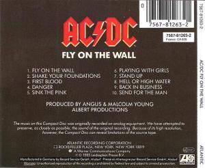 AC/DC: Fly On The Wall (CD) - Bild 2