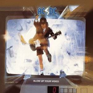 AC/DC: Blow Up Your Video - Cover