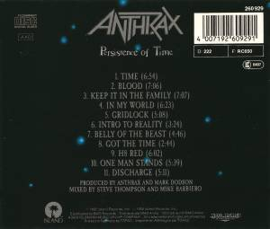 Anthrax: Persistence Of Time (CD) - Bild 3