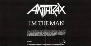 Anthrax: I'm The Man (Mini-CD / EP) - Bild 2