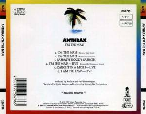 Anthrax: I'm The Man (Mini-CD / EP) - Bild 4