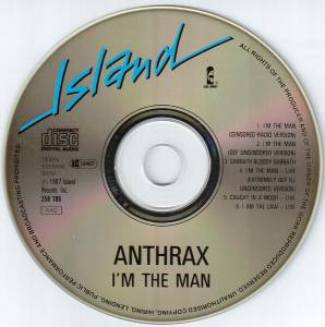 Anthrax: I'm The Man (Mini-CD / EP) - Bild 5