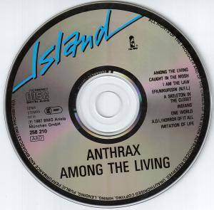 Anthrax: Among The Living (CD) - Bild 4