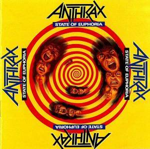 Anthrax: State Of Euphoria - Cover