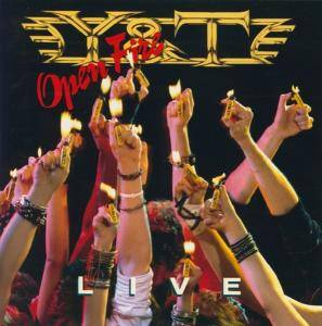 Y&T: Open Fire - Cover