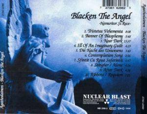 Agathodaimon: Blacken The Angel (CD) - Bild 2
