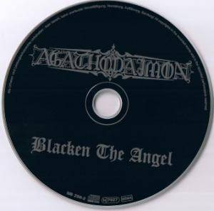 Agathodaimon: Blacken The Angel (CD) - Bild 5