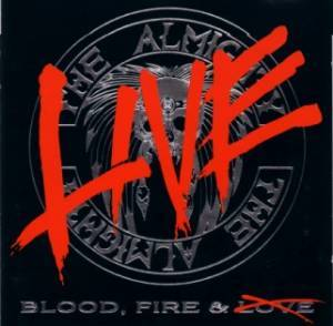 The Almighty: Blood, Fire & Live - Cover