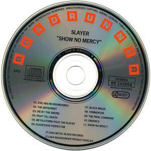 Slayer: Show No Mercy (CD) - Bild 8