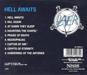 Slayer: Hell Awaits (CD) - Bild 3