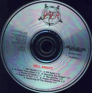Slayer: Hell Awaits (CD) - Bild 4