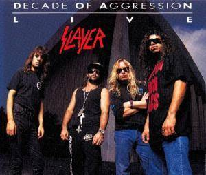 Slayer: Decade Of Aggression - Cover