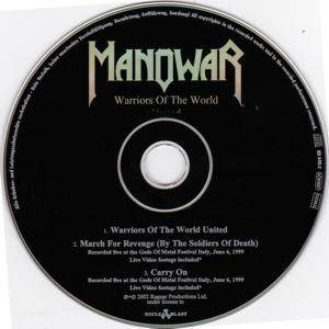 Manowar: Warriors Of The World United (Single-CD) - Bild 3