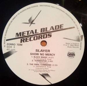 Slayer: Show No Mercy (2-LP) - Bild 7