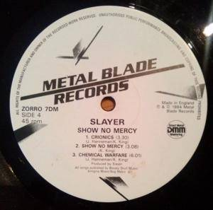 Slayer: Show No Mercy (2-LP) - Bild 8
