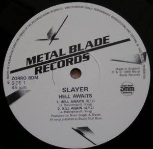 Slayer: Hell Awaits (2-LP) - Bild 3