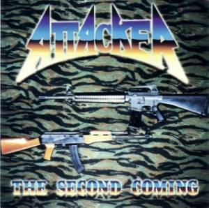 Attacker: Second Coming, The - Cover