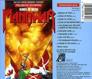 Manowar: Kings Of Metal (CD) - Bild 2