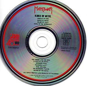 Manowar: Kings Of Metal (CD) - Bild 3